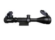 Milbro Lunette de visée 4-12x50 Military Style + montages 11mm/21mm