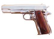 Colt 45 auto.1911 chrome